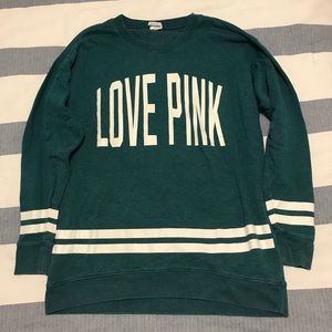 Love Pink Oversized Sweatshirt